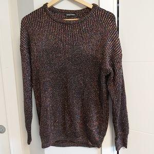 American Apparel metallic sweater